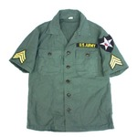 ジョンレノン Mode L 米軍 OG-107 ファティーグシャツ半袖 15サイズ( M) 【 レプリカ 】