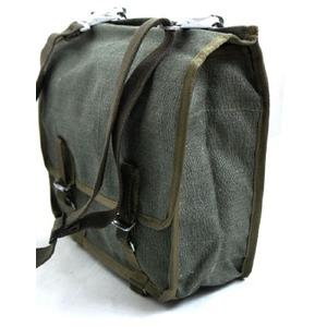 ロシア軍放出 綿キャンパスショルダーバッグ未使用デットストック - 拡大画像