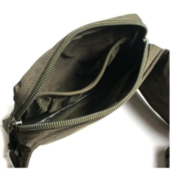 US軍 裏防水布使用ウェスト&ボディー2WAYバッグレプリカオリーブ