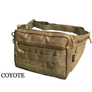 US軍 裏防水布使用ウェスト&ボディー2WAYバッグレプリカ コヨーテ ブラウン - 拡大画像