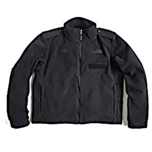 ロンドン警視庁放出 ポーラテックフリースジャケット ブラック未使用デットストック 《105-173》 - 拡大画像