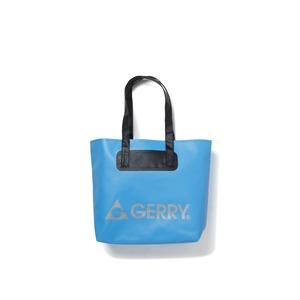 GERRY超軽量完全防水バケツ代わりにもなるトートバッグ ブルー - 拡大画像