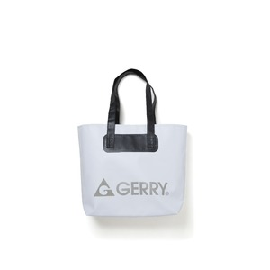 GERRY超軽量完全防水バケツ代わりにもなるトートバッグ ホワイト - 拡大画像