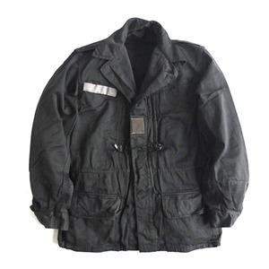 フランス軍放出M64ジャケット ブラック染めデットストック本物 - 拡大画像
