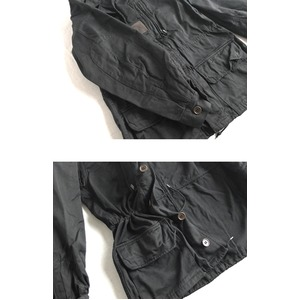 フランス軍放出M64ジャケット ブラック染めデットストック本物