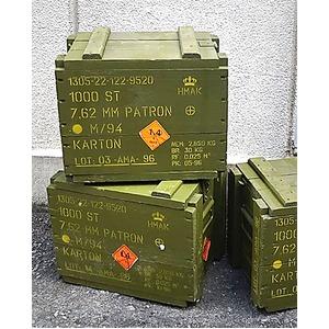 デンマーク軍 放出アミッションボックス1個【中古】 - 拡大画像