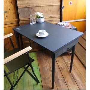 USタイプ 折り畳み式野戦フォールディングテーブルウッドレプリカ - 拡大画像