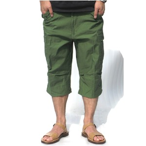 USタイプ「 M-65」フィールド七分丈パンツ オリーブ メンズ XLサイズ 【 レプリカ 】  - 拡大画像