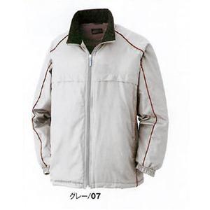 中綿入り撥水加工防寒コート グレー M