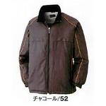 中綿入り撥水加工防寒コート チャコール M