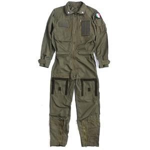 イタリア軍放出ノメックス(難燃性)フライトカバーオール未使用デットストック《50(L相当)》 - 拡大画像