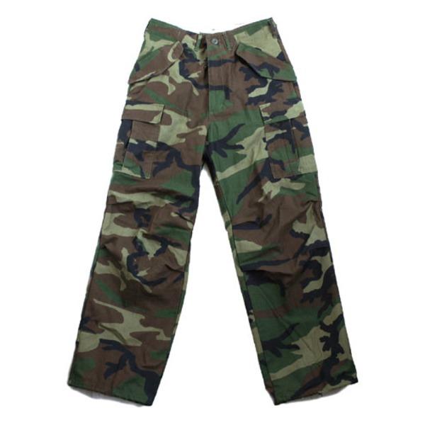 アメリカ軍落下傘部隊 8ポケットパラートルーパ...ツ)レプリカ ウッドランド M(90cm)