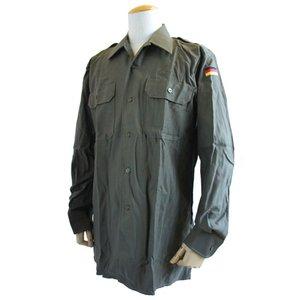 ドイツ軍放出 BW フィールドシャツ JS001NN GR.4(XL)【デットストック】【未使用】 - 拡大画像