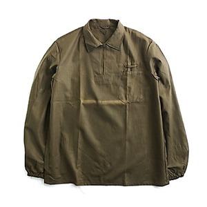 チェコ軍放出プルオーバーブラウンジャケット未使用デットストック XL相当 - 拡大画像