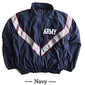 US ARMY IPFU 防風撥水加工大型リフレクタージャケットレプリカ ネイビー S - 拡大画像