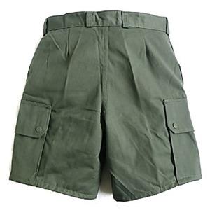 フランス軍放AIR FORCEフィールドショーツパンツ未使用デットストック オリーブ 76cm