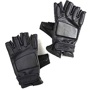 アメリカ「SWAT」フィンガーレス レザーグローブ L - 拡大画像
