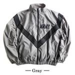 US ARMY IPFU 防風撥水加工大型リフレクタージャケットレプリカ グレー XL
