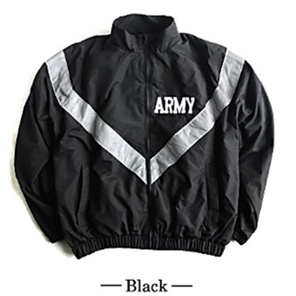 US ARMY IPFU 防風撥水加工大型リフレクタージャケットレプリカ ブラック XL