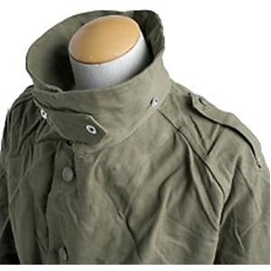 フランスWW2(第二次世界大戦)モーターサイクルオーバーコート未使用デットストック 《2(L相当)》