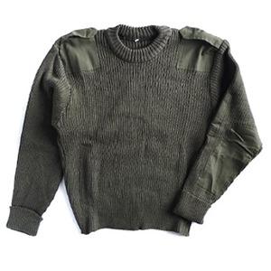 ポルトガル軍放出コマンドセーター未使用デットストック 46サイズ - 拡大画像