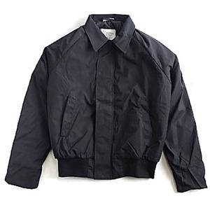 アメリカ軍放出コールドウェザー中綿キルトジャケット ブラックS(US企画)未使用デットストック