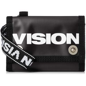 撥水性抜群ターボリン生地使用VISION(ビジョン)ウォーレット ブラック