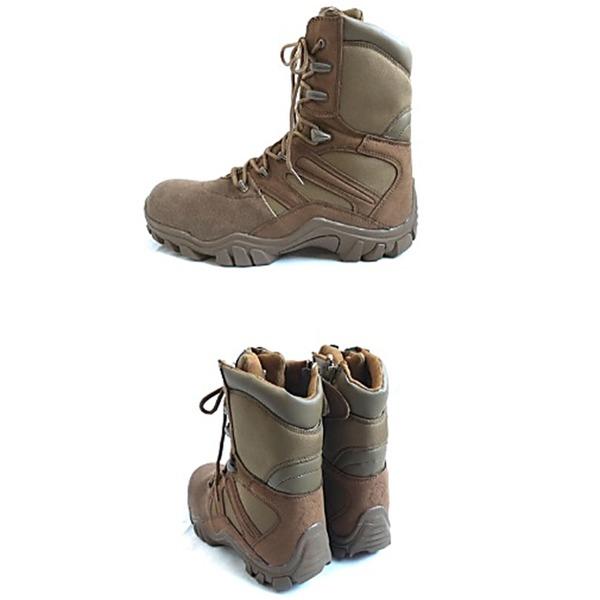 アメリカ軍海兵隊USMCサイドジッパーコンバットブーツレプリカ 8W(26cm)