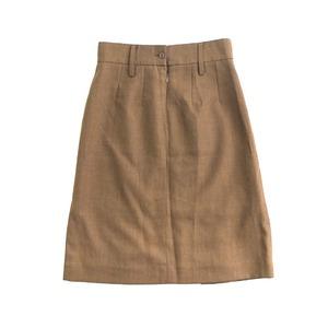 イギリス軍放出ドレススカート ブラウンデットストック 92cm - 拡大画像