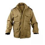 ROTHCO(ロスコ) ソフトシェルタクティカル M65フィールドジャケット ROGT140980 コヨーテ ブラウン XS