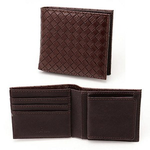 メッシュ折り財布 表チョコ×内チョコ - 拡大画像