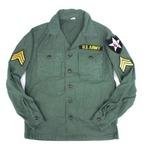 ジョンレノンタイプアメリカ軍ファーティングシャツ レプリカ 13h(レディースフリーサイズ)