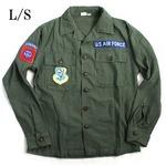 アメリカ軍AIRFORCE .B長袖ファーティングシャツレプリカ16h(メンズL相当)