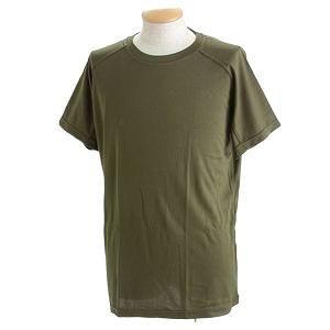 J. S.D.F.(自衛隊)採用吸汗速乾半袖 Tシャツ 【同色2枚SET】 XS オリーブ - 拡大画像