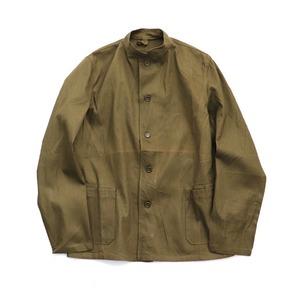 チェコ軍放出ワークジャケットマオカラー未使用デットストック 2(L相当) - 拡大画像