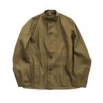 チェコ軍放出ワークジャケットマオカラー未使用デットストック 3(XL)相当)