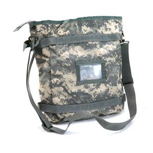 アメリカ軍放出裏防水PU加工ラジオバックUCP未使用デットストック - 拡大画像