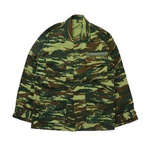 ギリシャ軍放出フィールドジャケットリザートカモ未使用デットストック M - 拡大画像