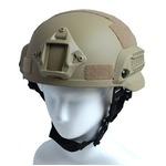 アメリカ軍特殊部隊MICH2002FASTヘルメットレプリカ コヨーテブラウン