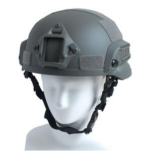 アメリカ軍特殊部隊MICH2002FASTヘルメットレプリカ フォリッジ - 拡大画像