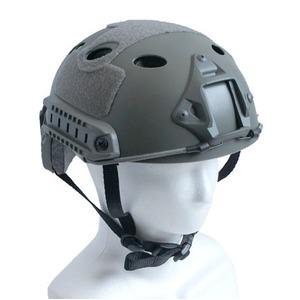 アメリカ空挺部隊FASTヘルメット「スタンダード」レプリカ フォリッジ - 拡大画像