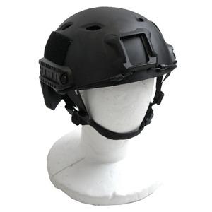 アメリカ空挺部隊FASTヘルメットABSレプリカ ブラック - 拡大画像