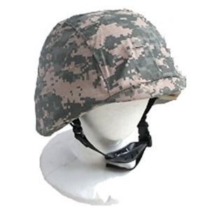 U.S.タイプ M88フリッツヘルメット&ヘルメットカバー付き ACU - 拡大画像