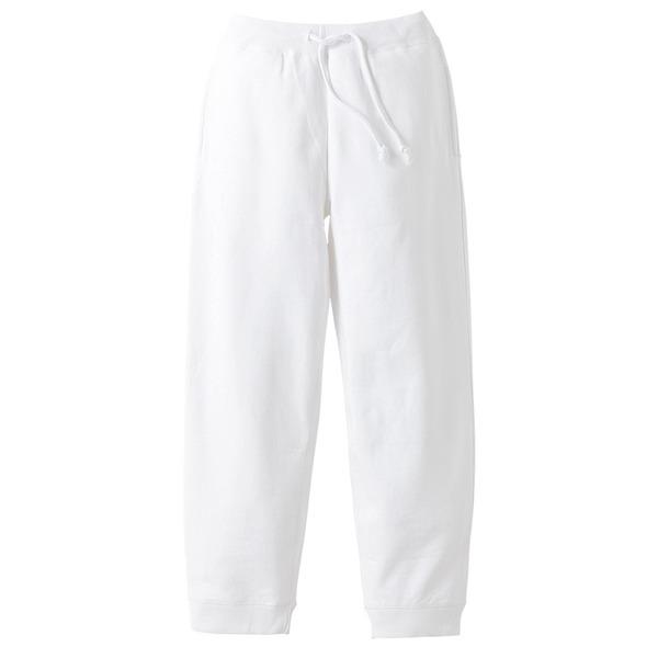10オンス裏地パイルスウェット パンツ ホワイト XL