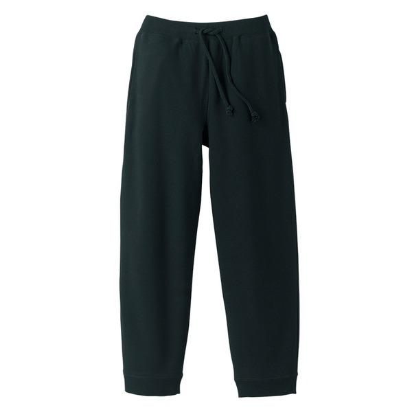 10オンス裏地パイルスウェット パンツ ブラック XL