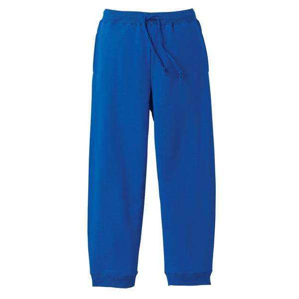 10オンス裏地パイルスウェット パンツ ロイヤルブルー XL