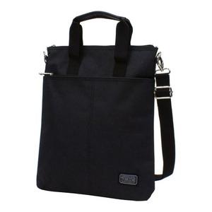 2WAYバッグ おしゃれなショルダーバッグ おしゃれな手提げバッグ ブラック - 拡大画像