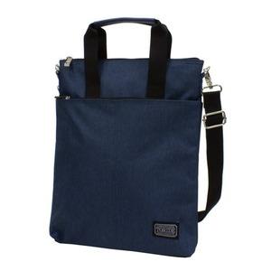 2WAYバッグ おしゃれなショルダーバッグ おしゃれな手提げバッグ ネイビー - 拡大画像