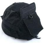 U.S.タイプ M88フリッツヘルメットカバーモジュールタイプ(ヘルメット別売り) ブラック