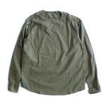 ルーマニア軍放出スリーピングシャツ グリーン 未使用デットストック S相当
